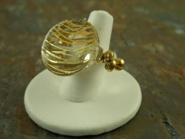 Ring finger 3 Resin Stretch Ring-0