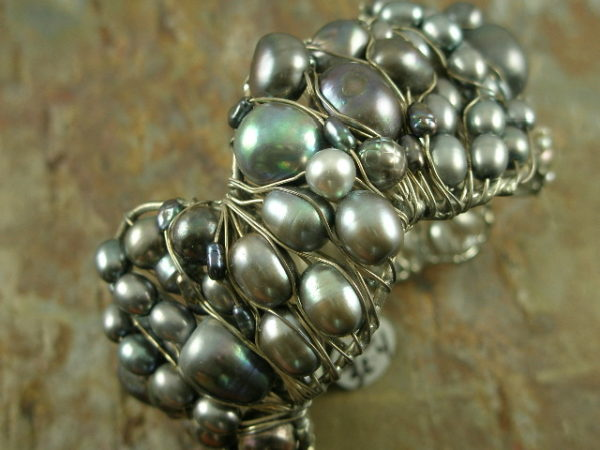 Pearl Me Handcrafted Statement Bracelet-0