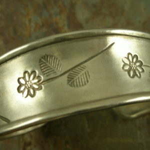 Miss Daisy Handcrafted Sterling Cuff Bracelet-0