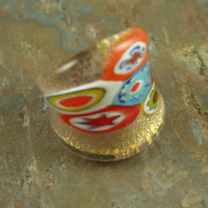 The Real McCoy Authentic Murano Glass Ring-0