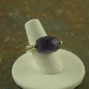 Grape Jelly Unique Amethyst Sterling Ring-0