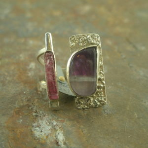 Split Personality One of a Kind Handcrafted Sterling Ring-0