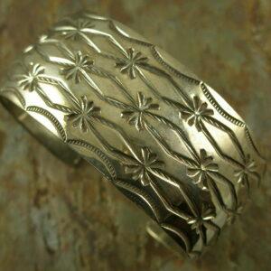 Rainbird Native American Sterling Cuff Bracelet-0