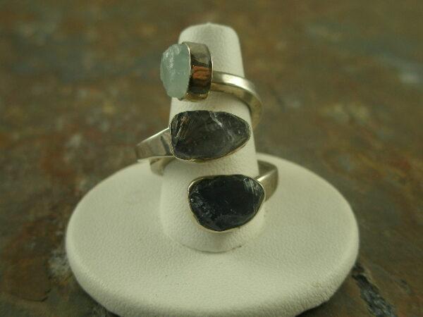 Left/Right Designer One of a Kind Sterling Statement Ring-0