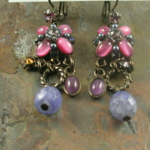 Little Italy Handmade Vintage Looking Earrings-0