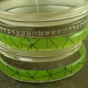 Think Green Handmade Resin Bracelet-0