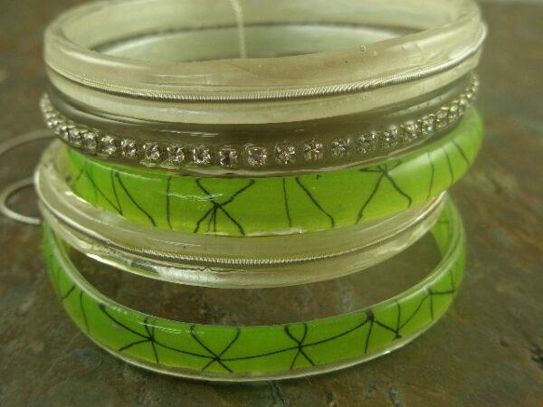 Think Green Handmade Resin Bracelet-0