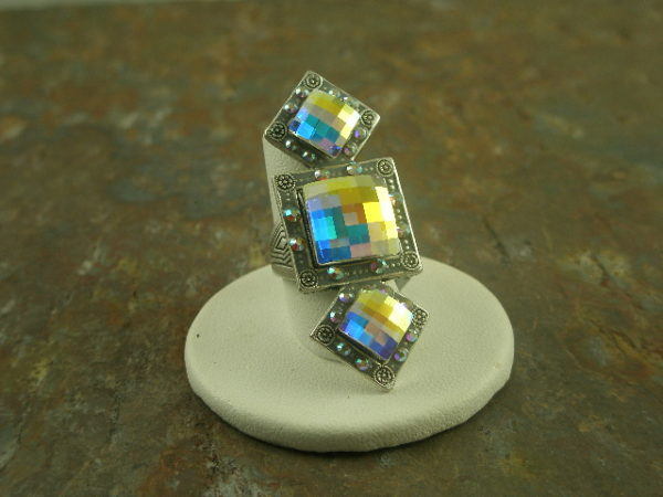 Go For It Fashion Crystal Statement Ring-0