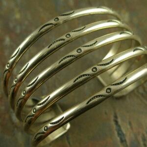 Peek Handcrafted Sterling Cuff Bracelet-0
