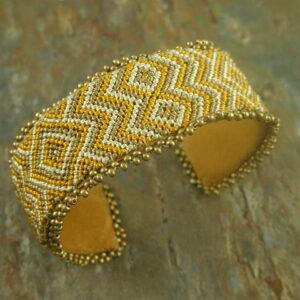 Flat 3 Handmade Beaded Bracelet -0