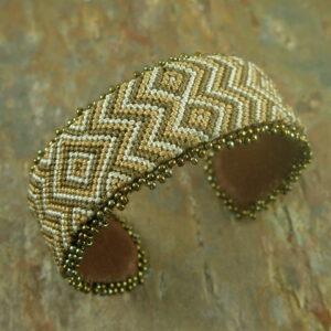 Flat 5 Handmade Beaded Bracelet-0