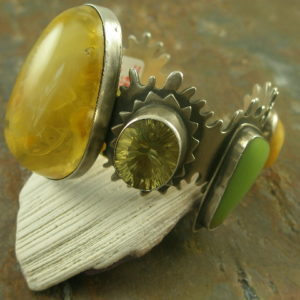 Opal Mania Designer Statement Bracelet-0