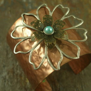Lechelle 3 Handcrafted Copper Bracelet-0
