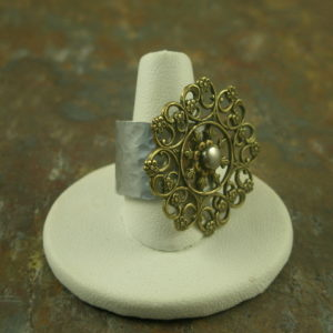 Lil' #2 Handmade Re-inspired Ring-0