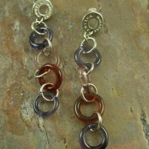 Murano Glass EarringsHoop Over to Venice -0