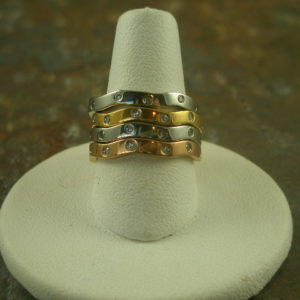 Keep 'Um Coming' Stainless Steel Stack Rings-0