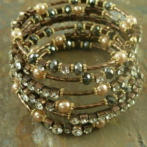 Wrap me in this bracelet Crystal Fashion Bracelet -0