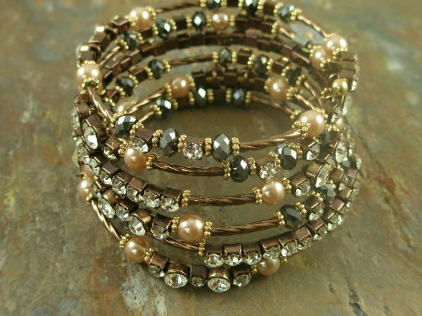 Wrap me in this bracelet Crystal Fashion Bracelet -0
