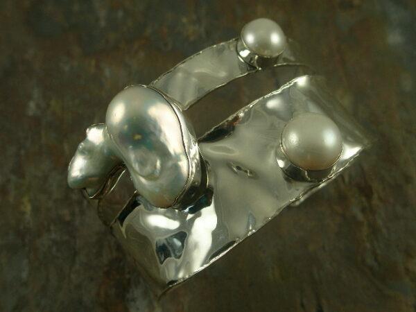 Pearl Girl Handmade Sterling Bracelet-0