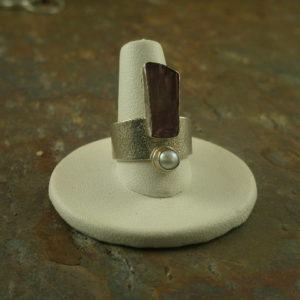 Split Decision One of a Kind Sterling Ring-0