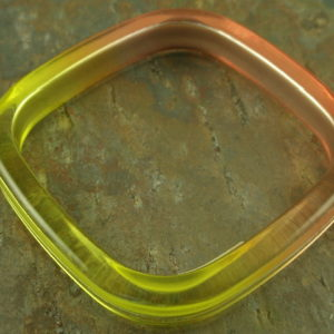 Cool Square 3 Italian Resin Bracelet-0