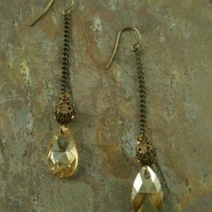 Clara Handmade Vintage Style Earrings-0