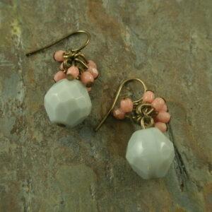 Nora Handmade Stone Earrings-0