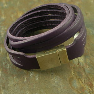 Good Grapes Leather Bracelet-0