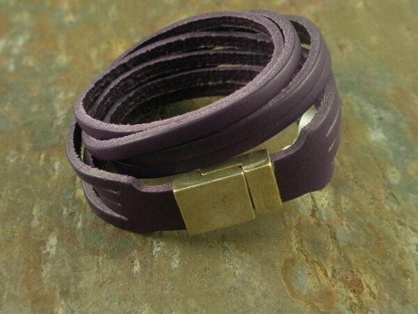 Good Grapes Leather Bracelet-0