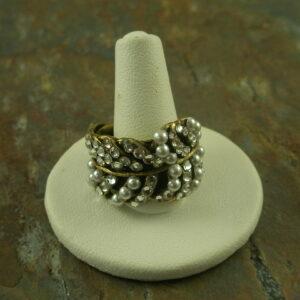 Sophia on the Point Vintage Style Adjustable Ring-0