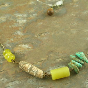 Hippy and Handcrafted Necklace-0