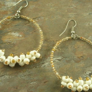 Bead Bobs #6 Fashion Hoop Earrings-0