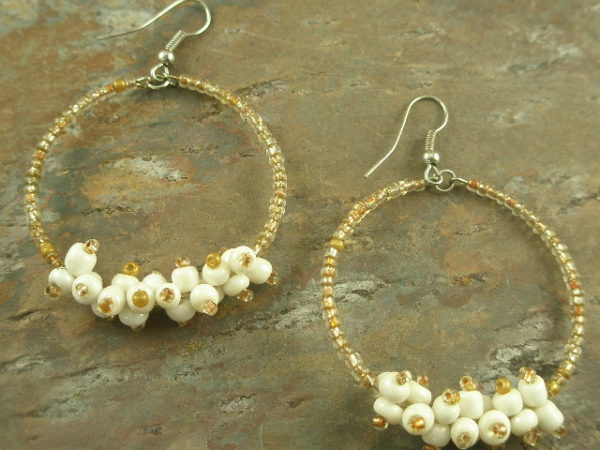Bead Bobs #6 Fashion Hoop Earrings-0