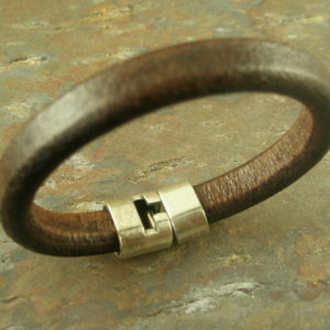 Saddle Up Handmade Leather Bracelet-0