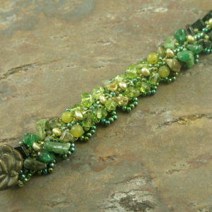Time For Spring Handmade Beaded Bracelet-0