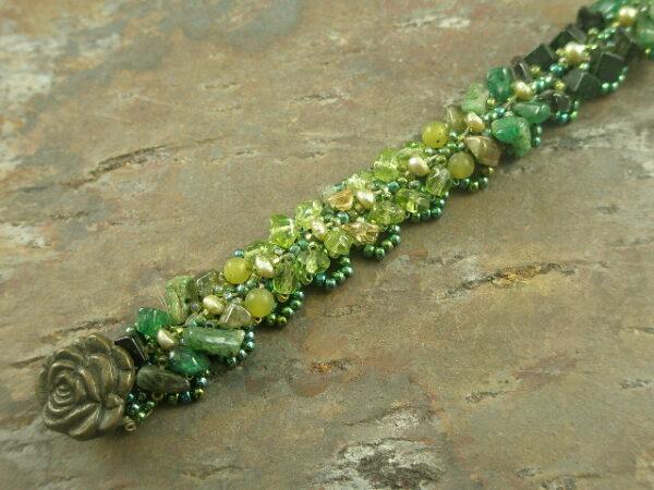 Time For Spring Handmade Beaded Bracelet-0