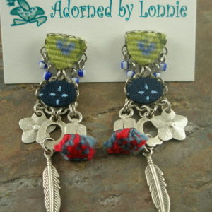 Totally Right Brained Designer Eclectic Earrings-0