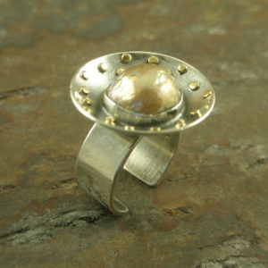 Tisk Disc One of a Kind Statement Ring-0