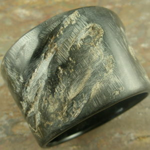 Buffalo Horn Bangle BraceletIn The Raw -0