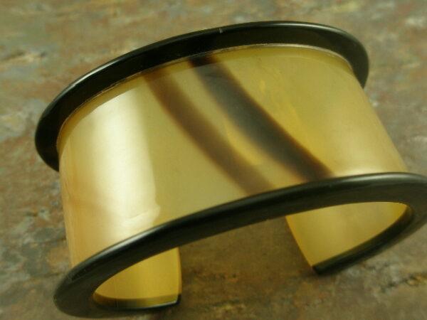 Buffalo Horn Cuff BraceletSafari In The City -0