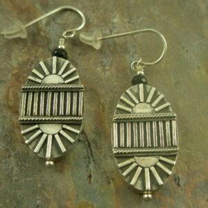 Art Deco Handcrafted Original Earrings-0
