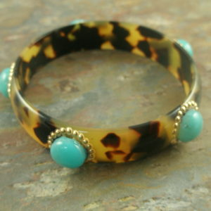 The Tortoise And The Resin Bangle-0