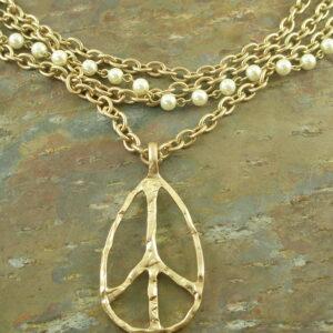Fashion NecklaceWe Need Peace -0
