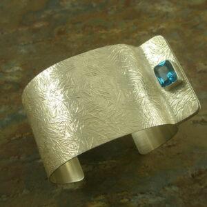 Sterling Silver Cuff BraceletThe Cufflink -0