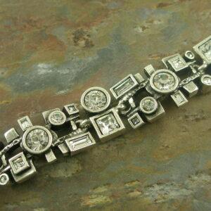 Deco Style Crystal BraceletOh MY Art -0
