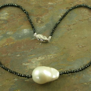 Spinel Pearl NecklaceIt's A Date -0