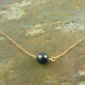 Sapphire NecklaceSimply Sapphire-0