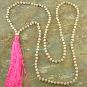 Tassel Fashion Necklace #5Crystal -0