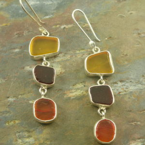 Sea Glass EarringsSea Treasure-0