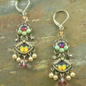 Earrings By Ayala BarHarlequin -0